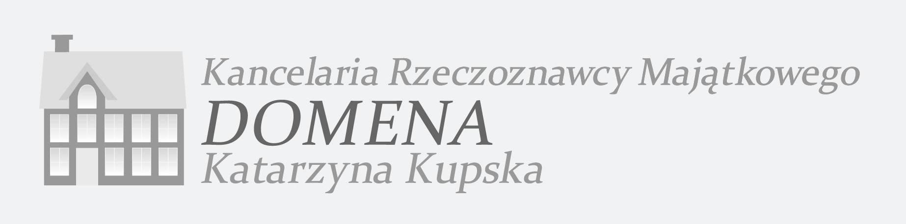 Kancelaria Rzeczoznawcy Majątkowego Domena Katarzyna Kupska Logo